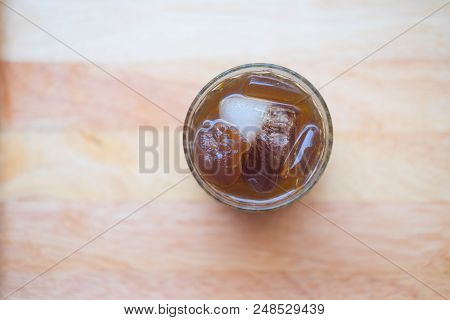 Summer Drink Fresh Longan Syrup Drink In Glass