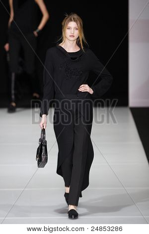 Emporio Armani Fall/Winter 2011 Collection - Milan