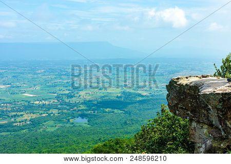 Pha Hua Nak Located At Phu Laen Kha National Park Chaiyaphum Thailand