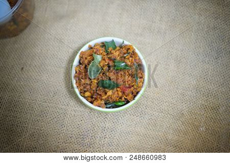 Fried Crispy Catfish In Chili Paste Sauce You Can Eat With Cooking Rice, Thai Style Chili Paste