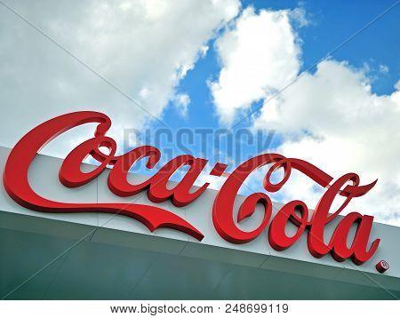 Logo Of Coca-cola Company, Moscow