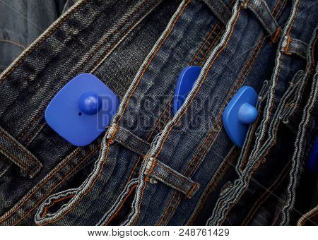 Rfid Hard Tag For Clothing - Shoplifting And Anti-theft System - Electronic Article Surveillance Sys