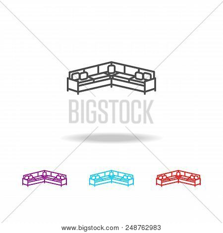 Corner Sofa Icon Vector Photo Free Trial Bigstock