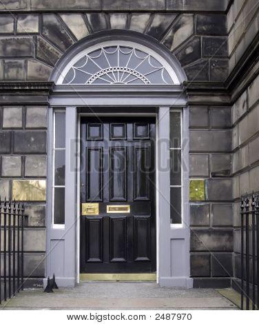 Door In Edinburgh, Scotland