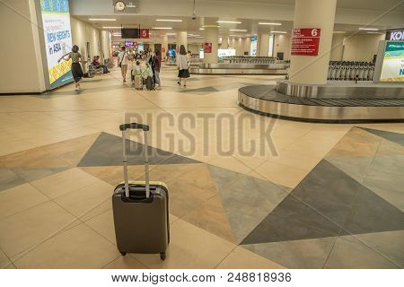 Macua- May 2,2018 : Macau International Airport. Macau International Airport Is An International Air