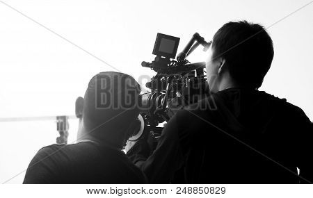 Movie Shooting Or Video Filming Production