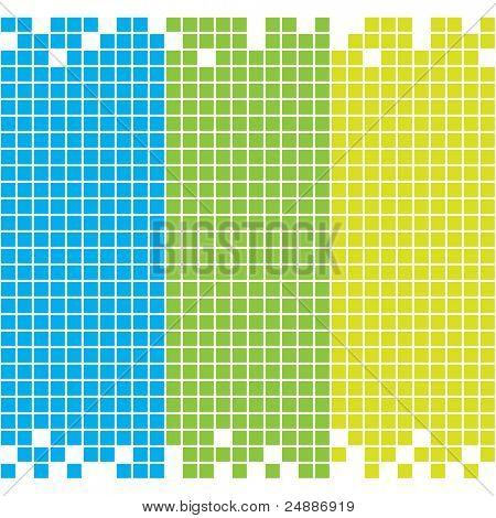 Seamless mosaic background. See vector version in my portfolio