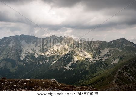 Placlive, Tri Kopy, Hruba Kopa, Banikov And Prislop Peaks On Rohace Mountain Group From Baranec Peak