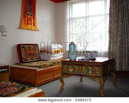 tibetischen Stil Hotelzimmer