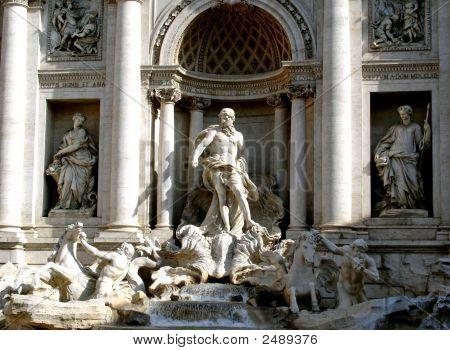 Trevi Brunnen-Rom