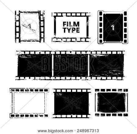 Film Strip Template. Vector & Photo (Free Trial) | Bigstock