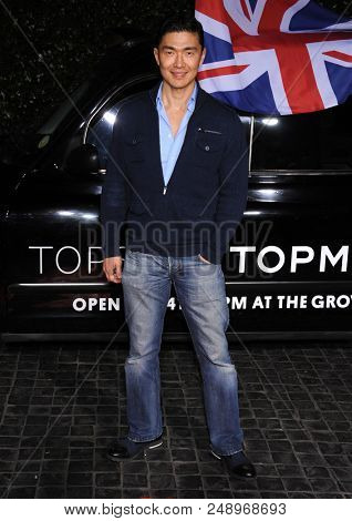 LOS ANGELES - FEB 13:  Rick Yune arrives to the Topshop Topman Store Opening Party  on February 13, 2013 in Hollywood, CA