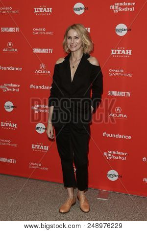 PARK CITY, UT - JAN 22: Actress Naomi Watts attends 'Ophelia' premiere at the 2018 Sundance Film Festival at Eccles Theater on January 22, 2018 in Park City, Utah.