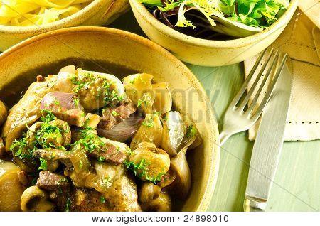 french cuisine coq au vin