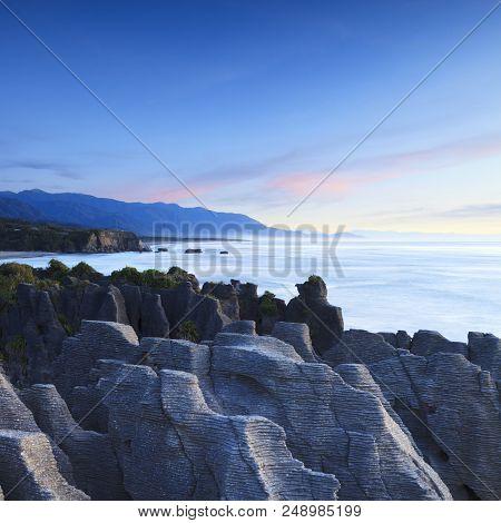 Pancake Rocks Dolomite Point Punakaiki New Zealand