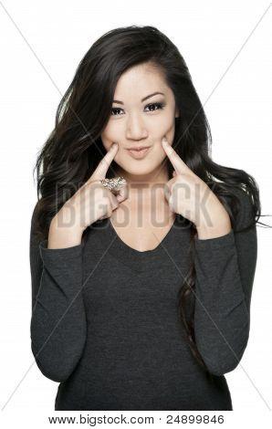 Cute Asian Teenager