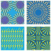 Four fabulous motion illusions for the price of one! Don't pass up this bargain! poster