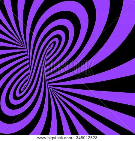 Abstract Colorful Swirl Image Concept - Optical Illusion Tornado Swirl - Optical Illusion Tornado Sw