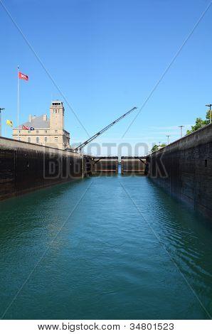 Soo Locks Of Sault Ste. Marie
