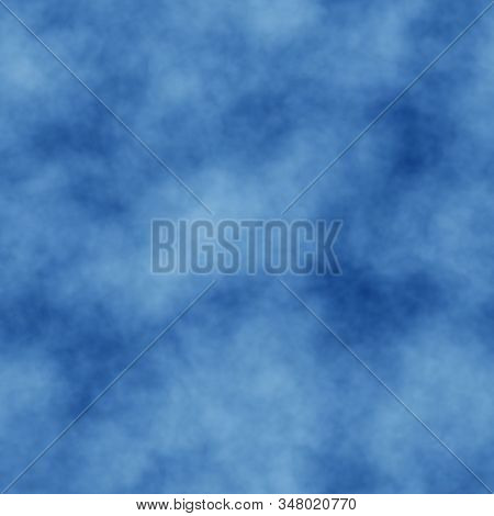 Blue Abstract Seamless Hazy Pattern Background Design
