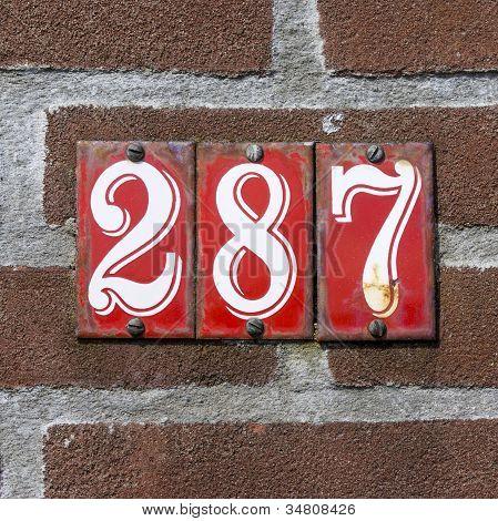 Nr. 287