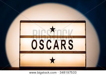 Hollywood, Los Angeles, Ca, Usa - January 31, 2020. The Academy Awards Or The Oscars Illustrative Ed