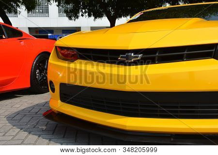 Pasay, Ph - Dec. 7: Chevrolet Camaro At Bumper To Bumper 15 Car Show On December 7, 2019 In Mall Of