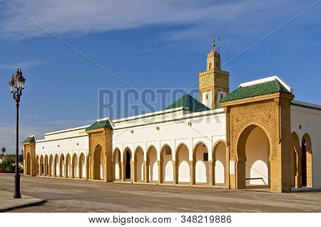 Dar Al Makhzen Is The Primary And Official Residence Of The King Of Morocco. It Is Situated In The T