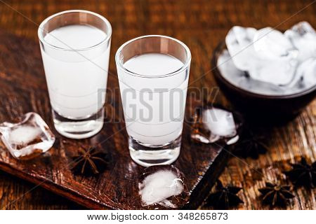 Uzo, Also Known By The Spelling Ouzo, Is A Greek Alcoholic Drink Made From Anise. In Brazil It Is Kn
