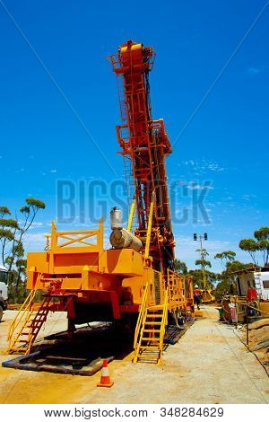 Core Drilling For Exploration In The Field