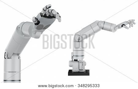Robotic Arm Isolated