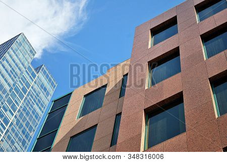Office Building. Business Building. Exterior Of Building