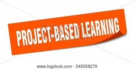 Project-based Learning Sticker. Project-based Learning Square Sign. Project-based Learning. Peeler