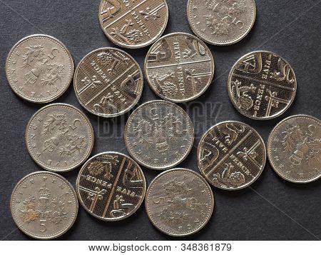 5 Pence Coin, United Kingdom