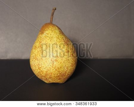 Yellow Pear Fruit Food