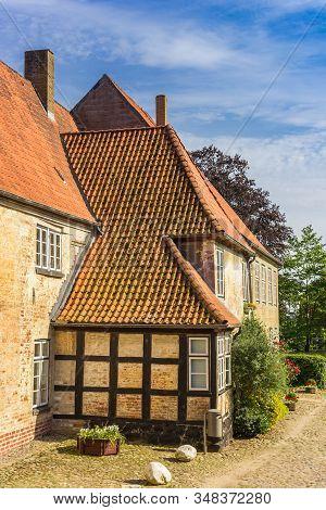 Johannis Monastery In Holm Fishing Village Of Schleswig, Germany