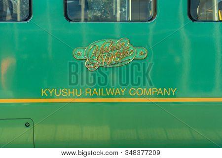 Oita Prefecture, Japan - January 5 2020 : Yufuin No Mori Limited Express Train, Operated By Kyushu R