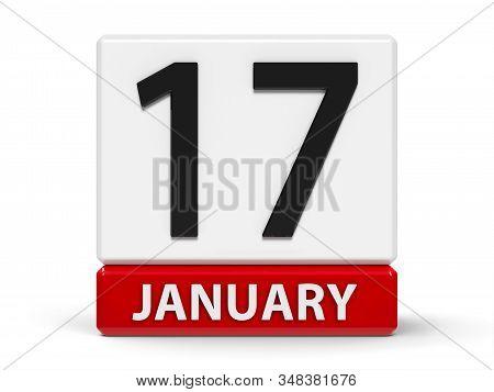 Cubes Calendar 17Th January