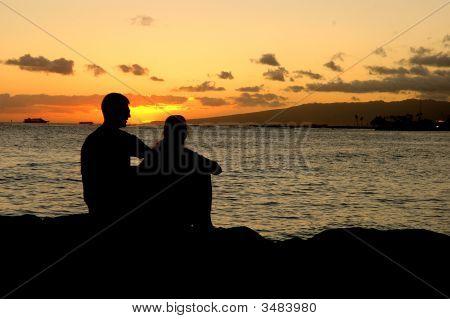 Sun Set Couple