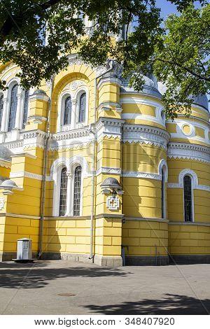 St Volodymyrs Orthodox Church Kiev Architecture Corner