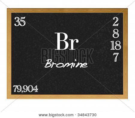 Bromine.