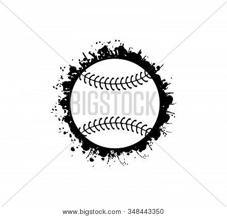 Baseball Softball Stuff Vector Logo Graphic Design