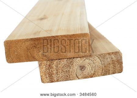 Wood Lumber Isolated
