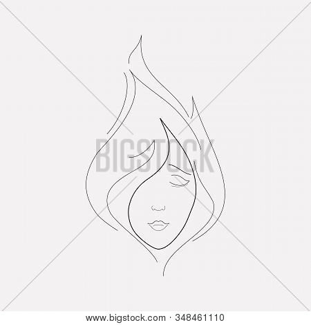 Passion Icon Line Element. Vector Illustration Of Passion Icon Line Isolated On Clean Background For