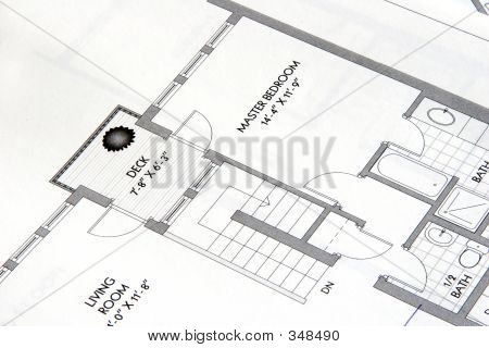 Architectural Plan Drawing