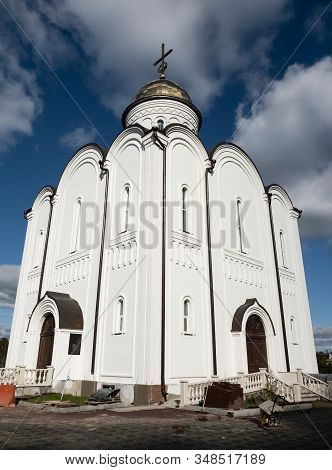 Church Of The Holy Right Prince Alexander Nevsky In Zelenograd. Moscow, Russia