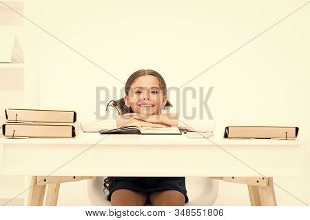 Studying On Desk With Incorrect Height Can Lead Back Pain. What Should Be Height Of Study Table. Sch