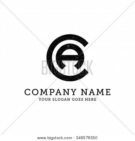 Ca Business Logo Template, Letter Ca Vector Illustration