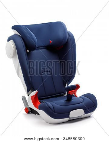 toddler car seat, isolated on white
