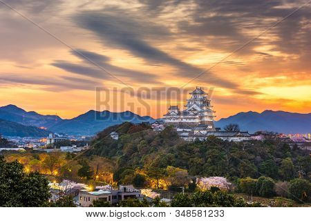 Himeji, Hyogo, Japan at the castle.